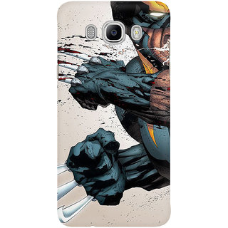 The Fappy Store Wolverine Anger Mobile Back Cover