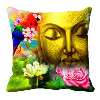 meSleep 3D Nature Cushion Cover (16x16)