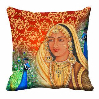 meSleep 3D Rani Cushion Cover (16x16)