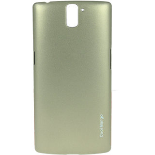 Cool Mango Luxury Hard Back Cover / Case for OnePlus One - Sparkling Champagne Gold