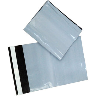 Tamper Proof Envelope, Security bags without POD Jacket 50 Microns 8 Inch x 10 Inch Set of 25 Pcs