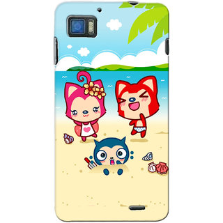 G.store Printed Back Covers for Lenovo K860 Multi 14145