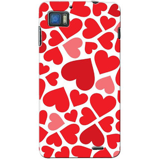 G.store Printed Back Covers for Lenovo K860 Red 14163