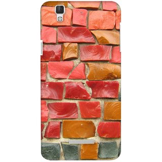 G.store Printed Back Covers for Coolpad Dazen F2 Multi 22531