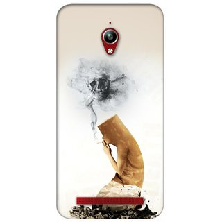G.store Printed Back Covers for Asus ZenFone Go White 26559