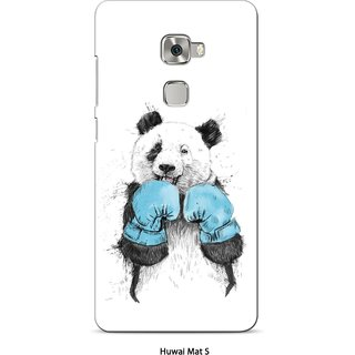 G.store Printed Back Covers for Huawei Mate S White 23013