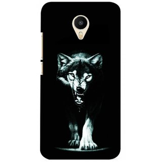 G.store Printed Back Covers for Meizu m1 metal Black 23872
