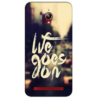 G.store Printed Back Covers for Asus ZenFone Go Yellow 26591