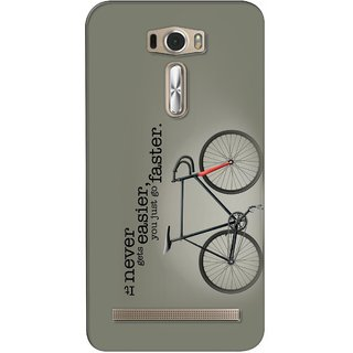 G.store Printed Back Covers for Asus ZenFone 2 Laser (ZE601KL) Grey 26411