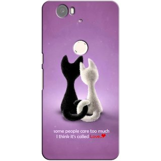 G.store Printed Back Covers for Huawei Nexus 6P Purple 26643