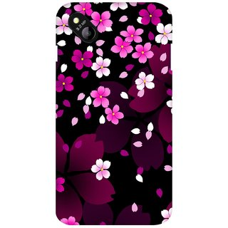 G.store Printed Back Covers for Micromax Bolt D303 Pink 27369