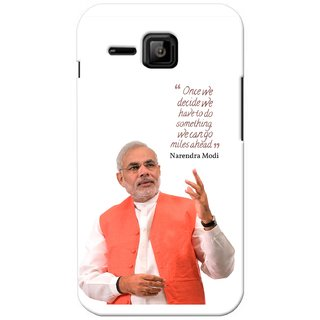G.store Printed Back Covers for Micromax Bolt S301 White 27594