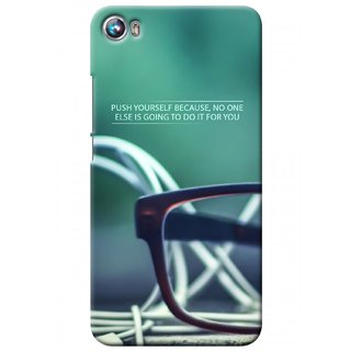 G.store Printed Back Covers for Micromax Canvas Fire 4 A107 Green 27608