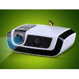 Luxcine C5 DLP LED Projector USB+2XHDMI+VGA+AV+TV+LAN Upto 50000 Hrs Lamp Life