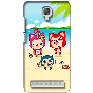 G.store Printed Back Covers for Micromax Bolt Q338 Multi 27445