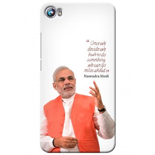 G.store Printed Back Covers for Micromax Canvas Fire 4 A107 White 27694