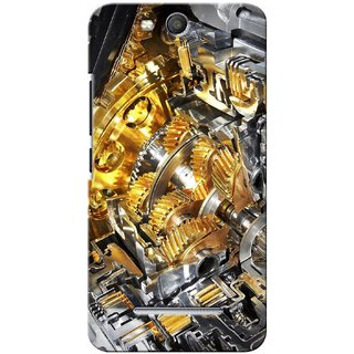 G.store Printed Back Covers for Micromax Canvas Juice 3 Q392 Yellow 27881