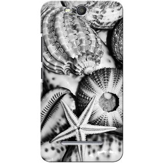 G.store Printed Back Covers for Micromax Canvas Juice 3 Q392 White 27888