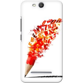 G.store Printed Back Covers for Micromax Canvas Juice 3 Q392 Red 27897
