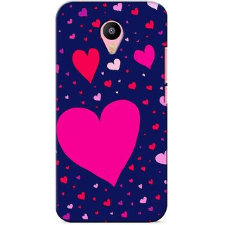 G.store Printed Back Covers for Meizu M2 Note Blue 27264
