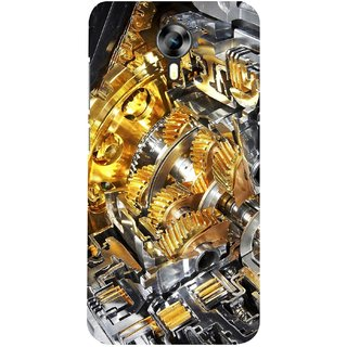G.store Printed Back Covers for Micromax Canvas Xpress 2 E313 Yellow 28381