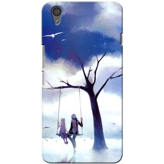 G.store Printed Back Covers for OnePlus X Blue 28852
