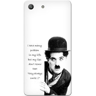 G.store Printed Back Covers for Sony Xperia M5 White 29076