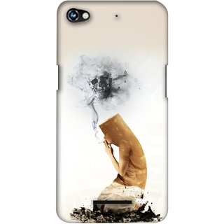 G.store Printed Back Covers for Micromax Canvas Hue 2 A316 White 27759
