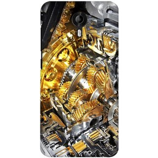 G.store Printed Back Covers for Micromax Canvas Nitro 3 E455  Yellow 27981