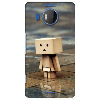 G.store Printed Back Covers for Microsoft Lumia 950 XL Brown 28637