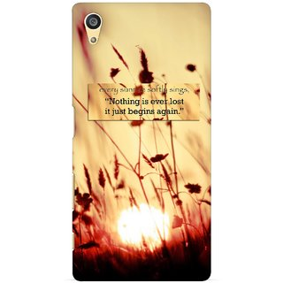 G.store Printed Back Covers for Sony Xperia Z5 Brown 29128