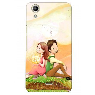 G.store Printed Back Covers for Micromax Canvas Selfie Lens Q345  Multi 28250