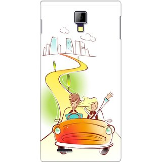 G.store Printed Back Covers for Micromax Canvas Xpress A99 Multi 28449