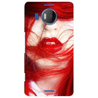 G.store Printed Back Covers for Microsoft Lumia 950 XL Red 28679