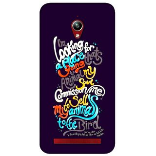 G.store Printed Back Covers for Asus ZenFone Go Multi 30968