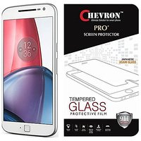 Chevron Tempered Glass Screen Protector For Moto G Plus 4th Gen (G4)