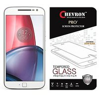 Chevron Moto G Plus, 4th Gen Screen Protector, Premium Oil Resistant Coated Tempered Glass Screen Protector Film Guard F