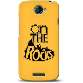 G.store Printed Back Covers for HTC One S Yellow 32420