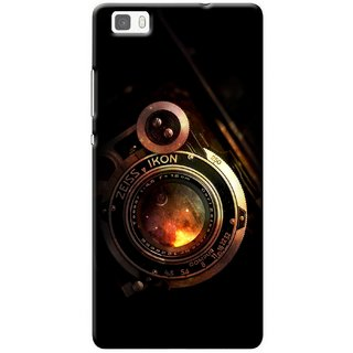 G.store Printed Back Covers for Huawei P8 lite Black 32812