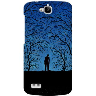 G.store Printed Back Covers for Huawei Honor Holly Blue 33219