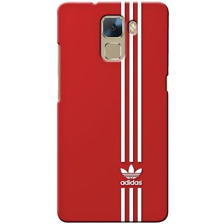G.store Printed Back Covers for Huawei Honor 7 Red 33032