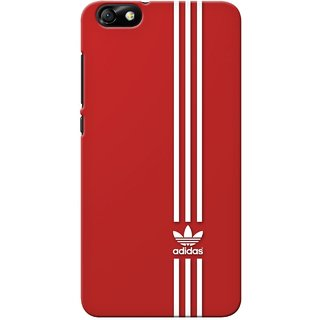 G.store Printed Back Covers for Huawei Honor 4X Red 33332