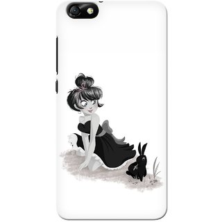 G.store Printed Back Covers for Huawei Honor 4X White 33345