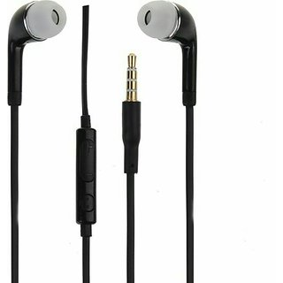 3.5mm Jack High Quality Stereo With Mic And Volume Control Button Headphone Black For Meizu MX