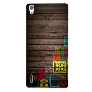 G.store Printed Back Covers for Huawei Ascend P7 Multi 33698