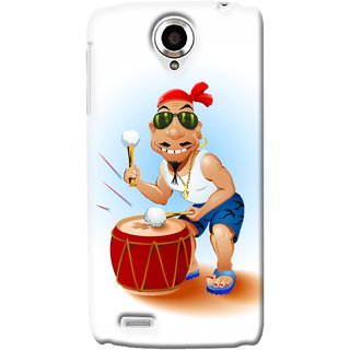 G.store Printed Back Covers for Lenovo S820 Black 34630