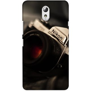G.store Printed Back Covers for Lenovo Vibe P1m Black 34909