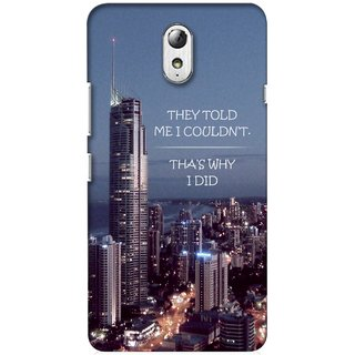 G.store Printed Back Covers for Lenovo Vibe P1m Multi 34937
