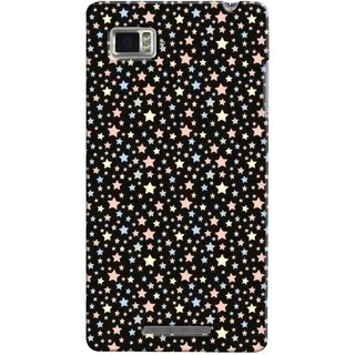 G.store Printed Back Covers for Lenovo Vibe Z K910 Black 35071