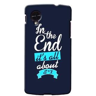 G.store Printed Back Covers for LG Google Nexus 5 Blue 35704